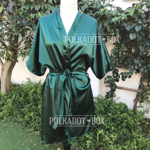 Emerald Bridal Robe