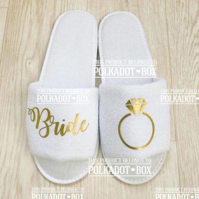 Bride Ring Slippers