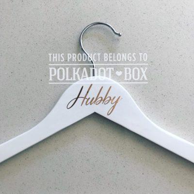 Vinyl Hubby Hanger