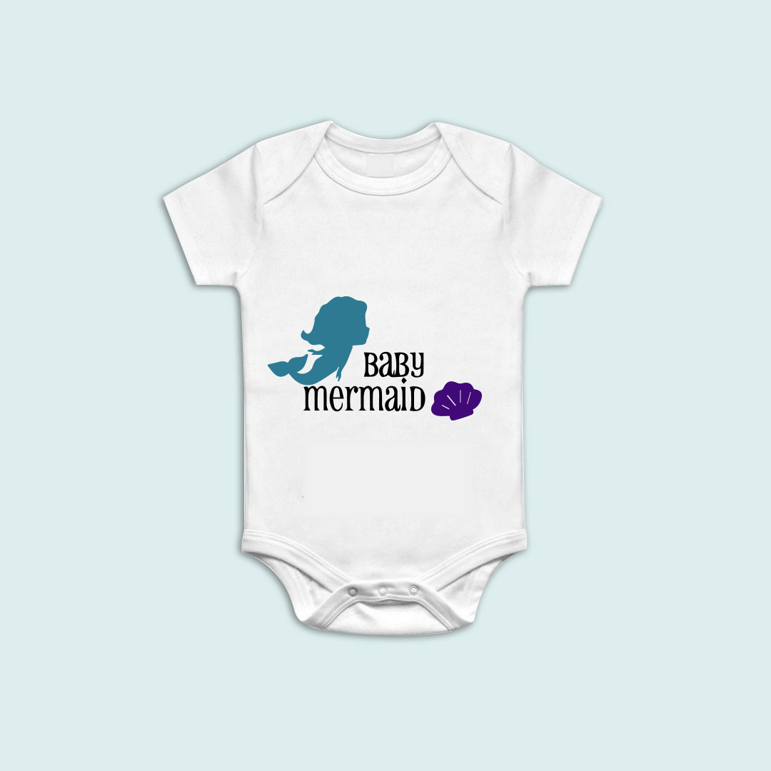 baby mermaid onesie