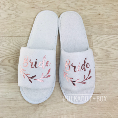 bride fern slippers