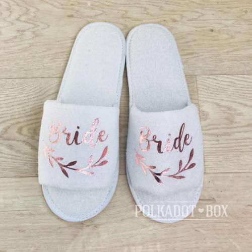 bride fern slippers