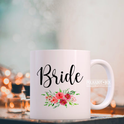 Floral Bride Mug