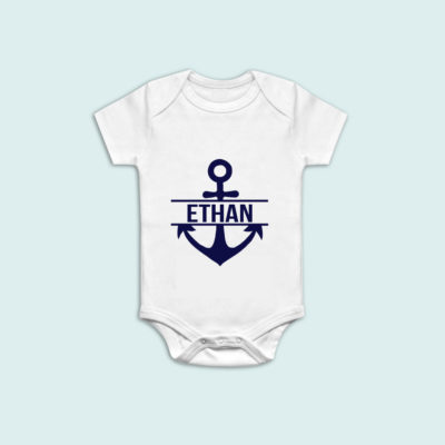 custom anchor onesie