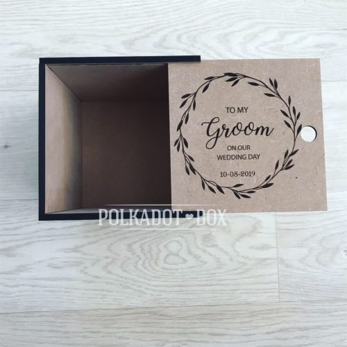 Custom Groom Gift Box