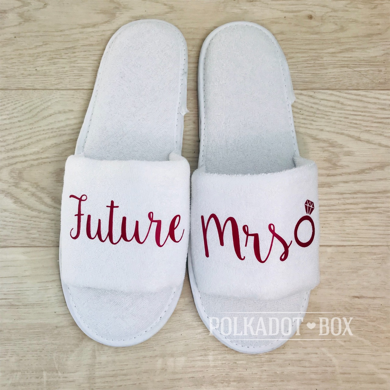 9cf4c95ae43 Future Mrs Wedding Slippers