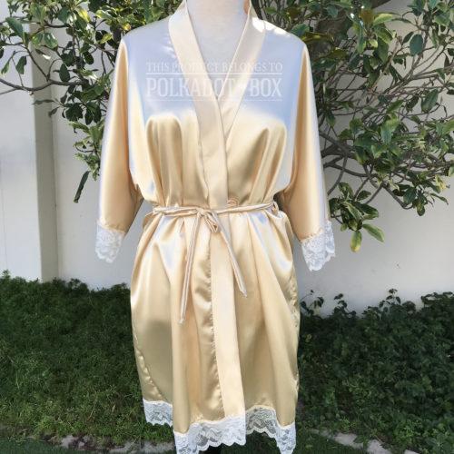 Champagne Bridal Robe