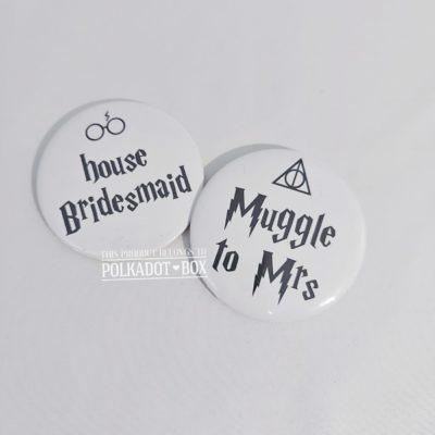 Harry Potter Button Badges