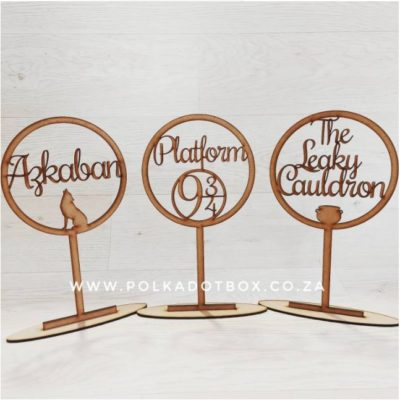 harry potter table names