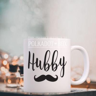 hubby wedding mug