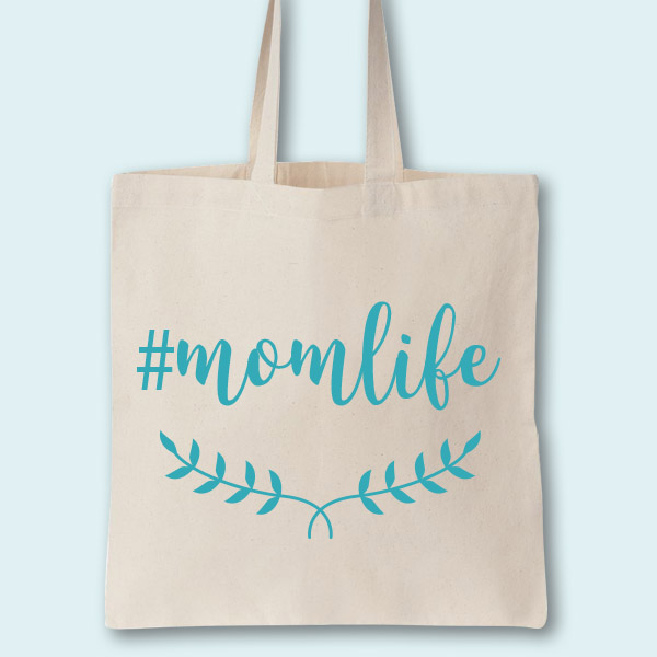 Momlife Custom Tote Bag