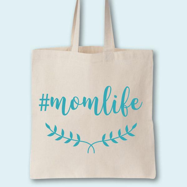 Momlife Custom Tote Bag