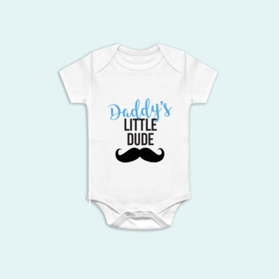 Daddy's Little Dude Onesie