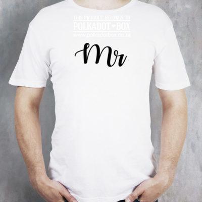 mr wedding tshirt