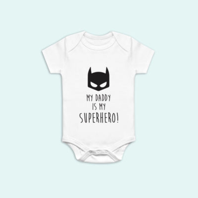 My Daddy is my Superhero Onesie